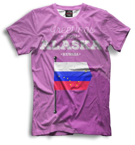 Мужская футболка Аляска