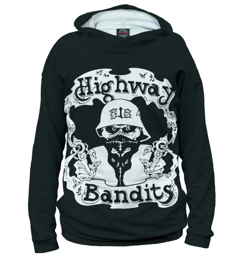 Женское худи Highway Bandits