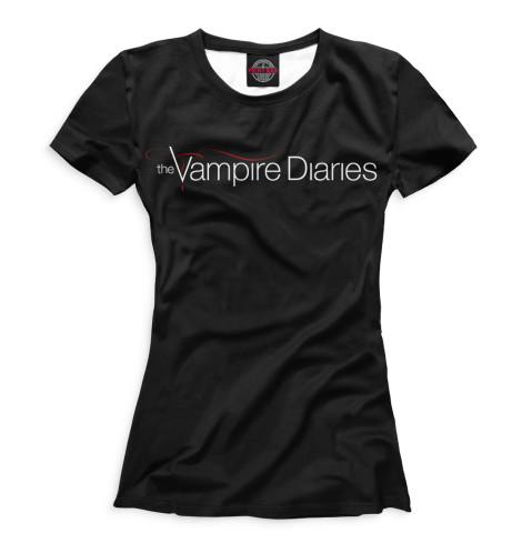 Футболка Print Bar Дневники вампира смит л дж дневники вампира возвращение души теней