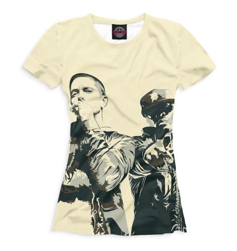 Женская футболка Bad Meets Evil