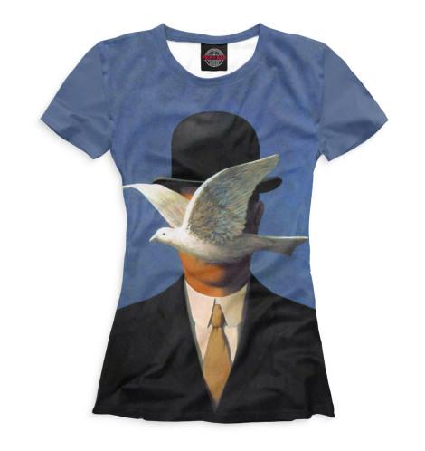 Женская футболка Рене Магритт