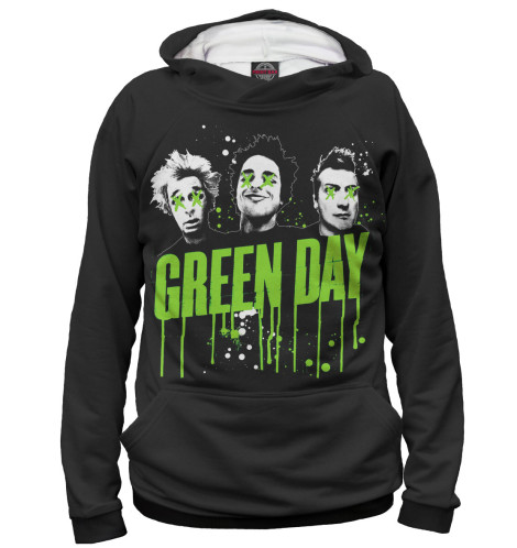 Худи Print Bar Green Day худи print bar pay day