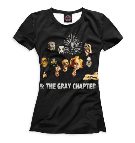 Футболка Print Bar .5: The Gray Chapter 5 the gray chapter cd