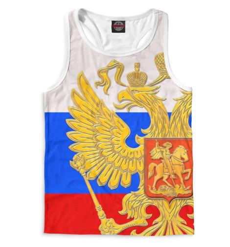 Майка борцовка Print Bar Триколор и герб