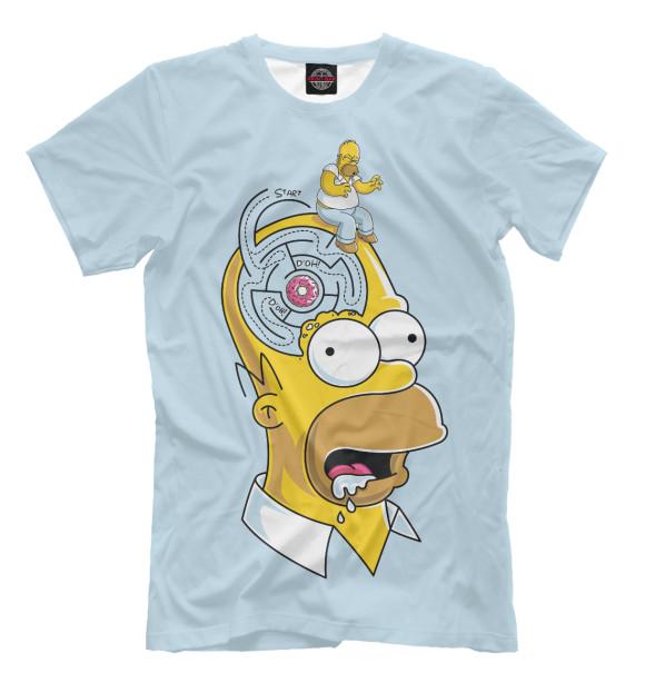 Купить Мужская футболка Гомер SIM-882647-fut-2