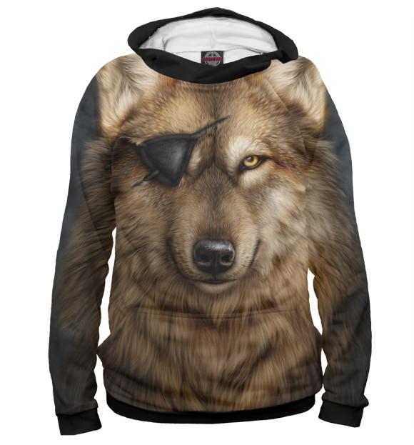 Купить Женское худи Волк VLF-102912-hud-1