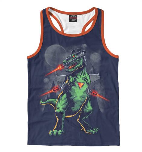 Майка борцовка Print Bar Звездный динозавр майка борцовка print bar динозавр бодибилдер