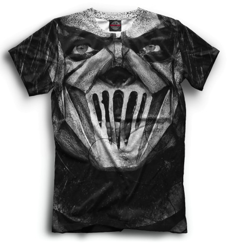 Купить Мужская футболка Slipknot SLI-593075-fut-2