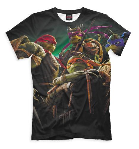Мужская футболка Черепашки-ниндзя
