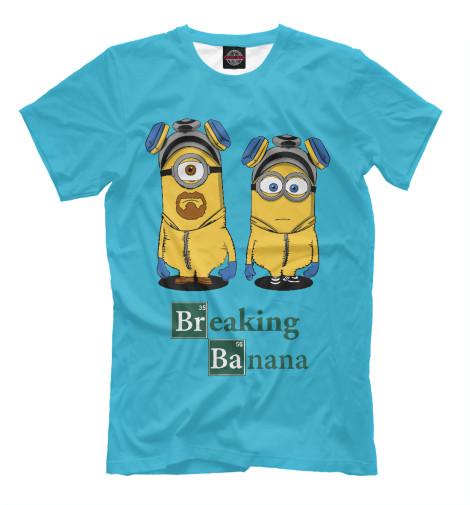 Футболка Print Bar Breaking Banana поло print bar damask banana