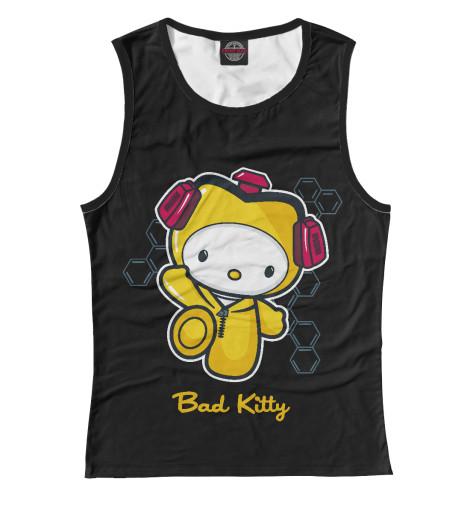 Майка Print Bar Bad Kitty свитшот print bar bad kitty