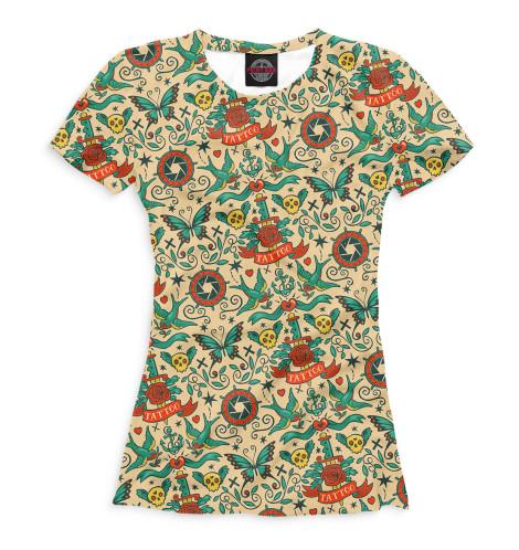 Женская футболка Тату