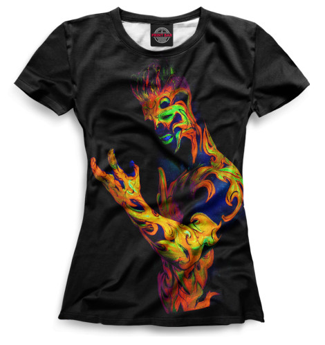 Женская футболка Color