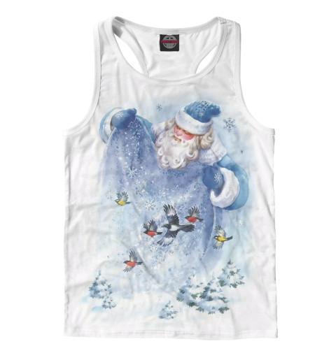 Майка борцовка Print Bar Дед Мороз мягкие игрушки woody o time плюшевый дед мороз