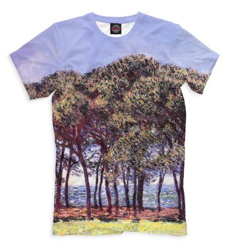 Мужская футболка Сосны