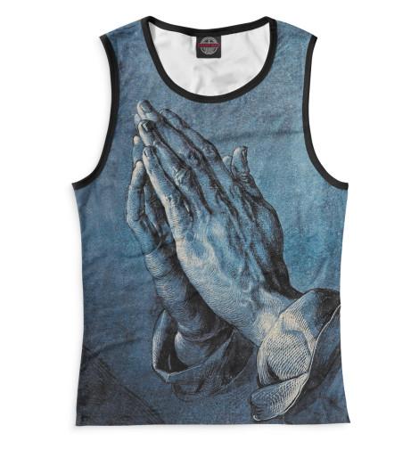 Женская майка Молитва