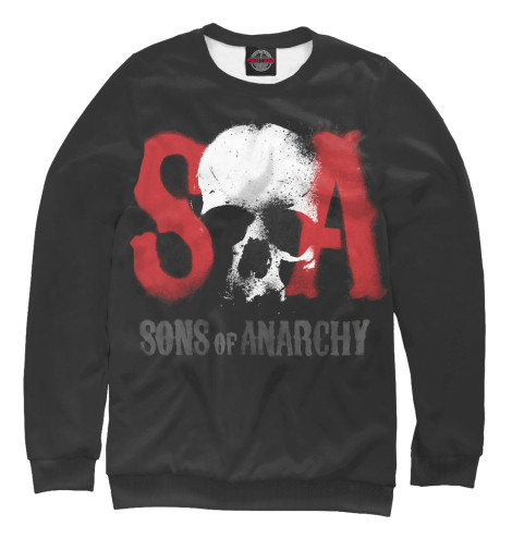 Свитшот Print Bar Сыны анархии детская футболка классическая унисекс printio сыны анархии
