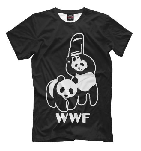 Футболка Print Bar WWF Panda wwf wwf wwf997
