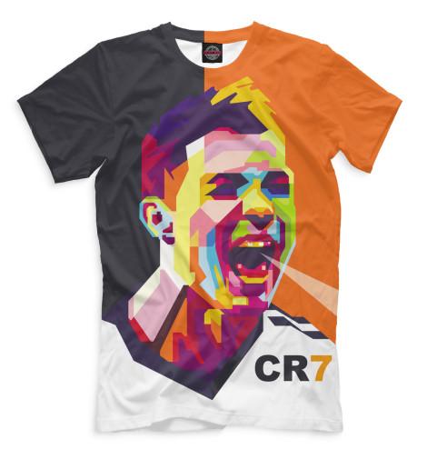 Мужская футболка Роналду арт