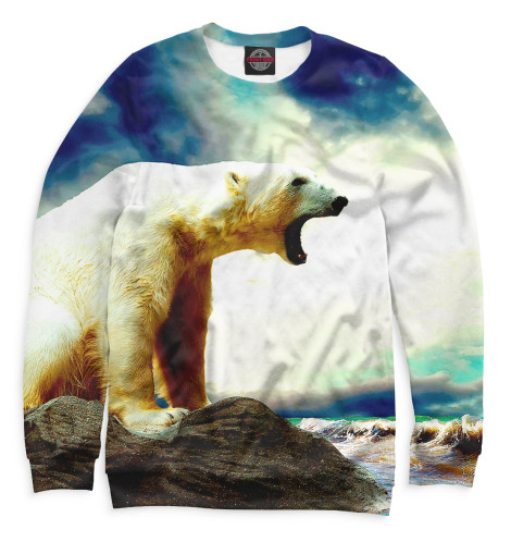 Женский свитшот Медведи