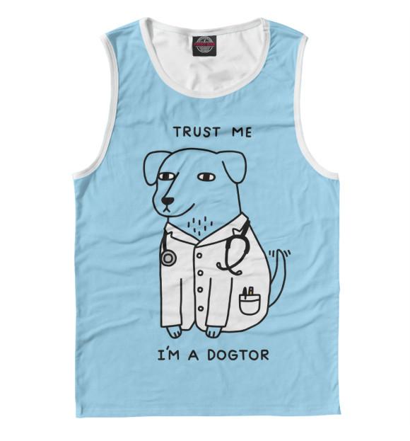 Купить Майка для мальчика Dogtor VRC-851985-may-2