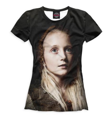 Женская футболка Биксби