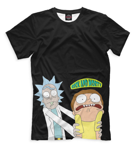 Купить Мужская футболка Рик и Морти RNM-759484-fut-2