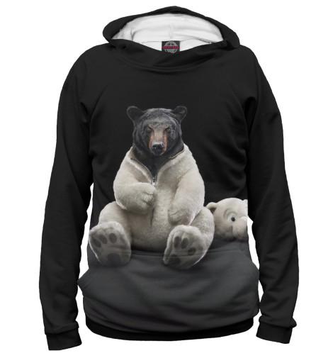 Купить Мужское худи Медведь MED-106258-hud-2