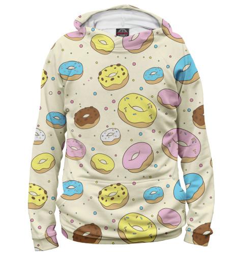 Мужское худи Пончики