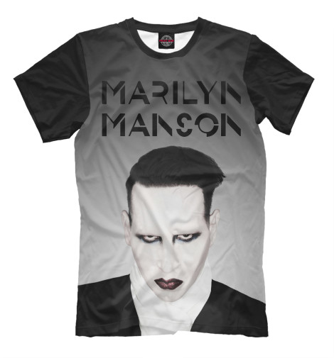 Футболка Print Bar Marilyn Manson marilyn manson guns god
