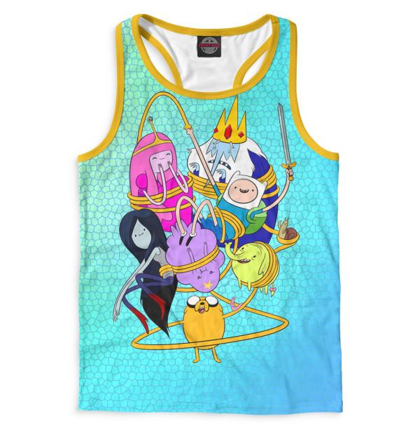Купить Мужская майка-борцовка Adventure Time ADV-721112-mayb-2