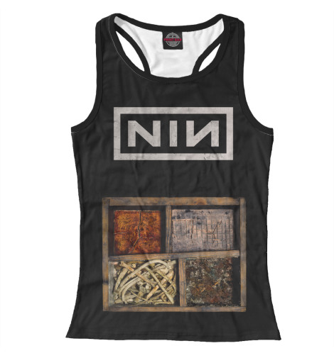 Майка борцовка Print Bar Nine Inch Nails туфли nine west nwomaja 2015 1590