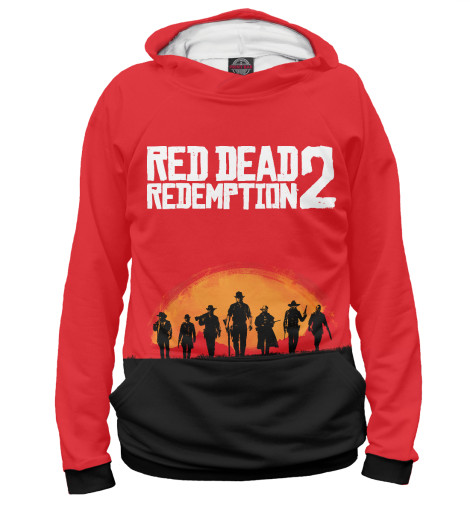 Худи Print Bar Red Dead Redemption 2 худи print bar the walking dead