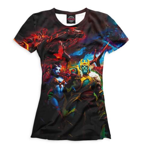 Женская футболка Queen of Pain