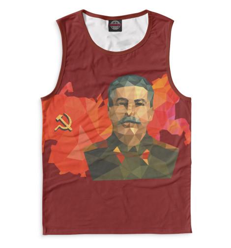 Мужская майка Сталин