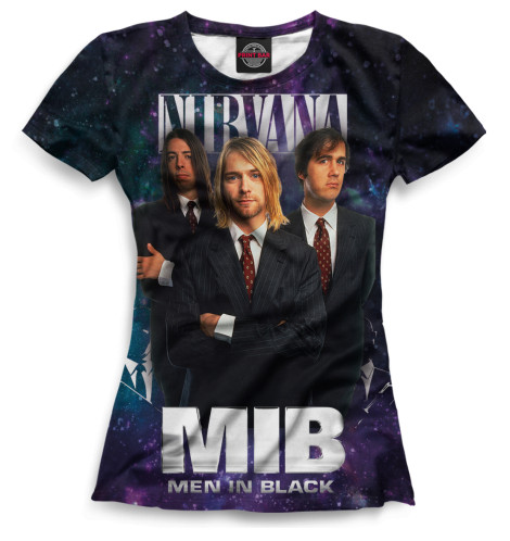 Купить Женская футболка Nirvana NIR-715502-fut-1