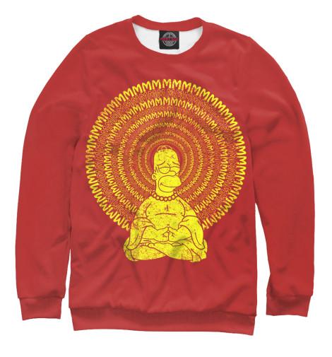 Свитшот Print Bar Гомер Буддизм