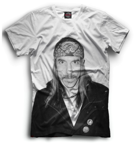 Мужская футболка Anthony Kiedis