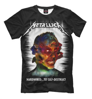 Мужская футболка Metallica Hardwired...To Self-Destruct