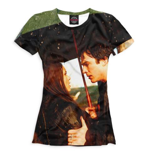 Женская футболка Дневники вампира