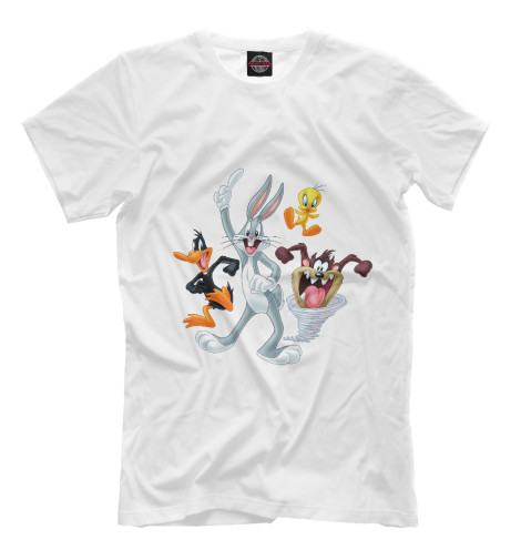 Футболка Print Bar Looney Tunes толстовка для девочки baby looney tunes сиреневая с рисунком