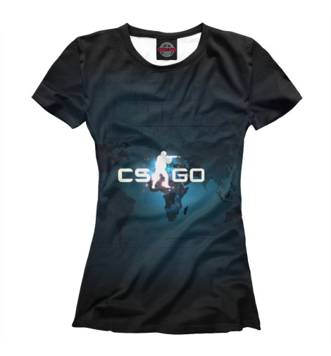 Футболка Print Bar CS GO худи print bar cs go asiimov black