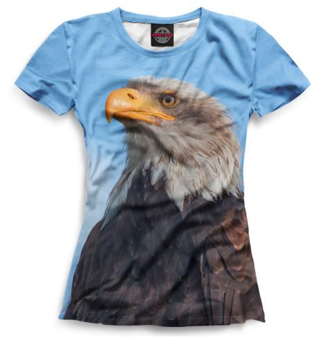 Женская футболка Птицы