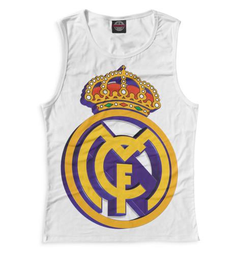 Женская майка Реал Мадрид герб