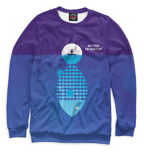 Свитшот Print Bar Крупная рыба мурманская рыба где в москве
