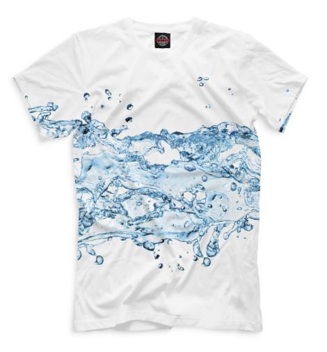 Мужская футболка Вода