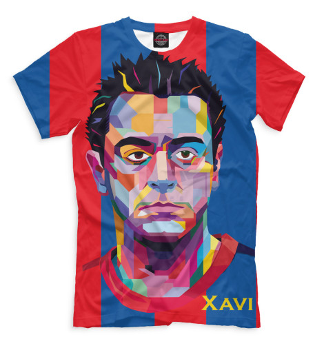 Мужская футболка Хави