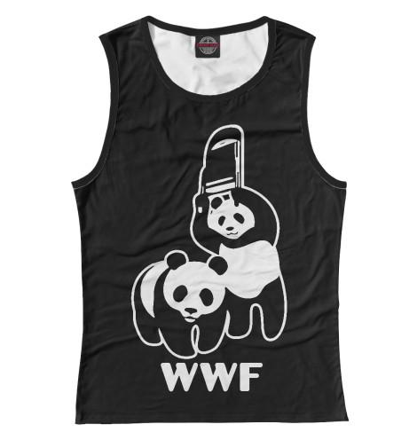 Майка Print Bar WWF Panda wwf wwf wwf997