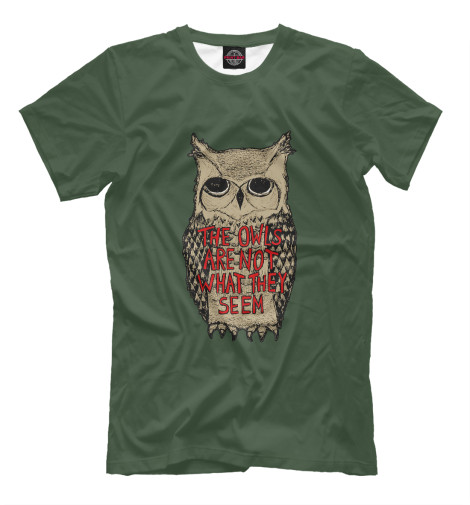 Футболка Print Bar The Owls Are Not What They Seem batman noir the court of owls