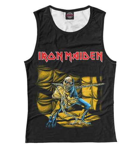 Майка Print Bar Iron Maiden Piece of Mind виниловая пластинка iron maiden piece of mind
